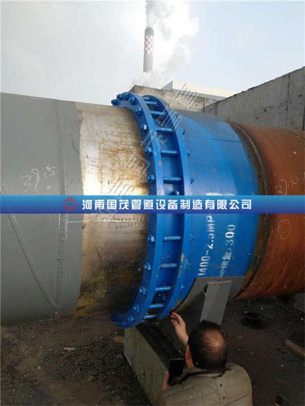 一般套筒补偿器和新型套筒补偿器的安装方法