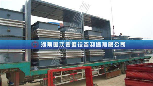 河南国茂为山西国阳发电厂提供矩形三波金属补偿器