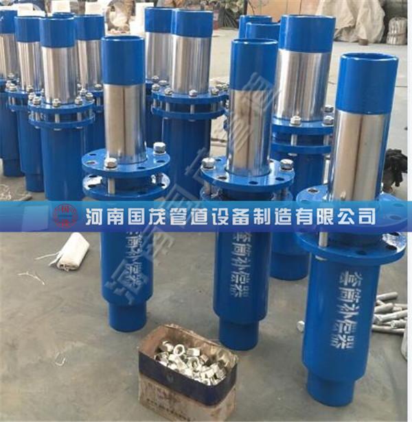 供回水管网套筒补偿器的使用要根据规范要求进行
