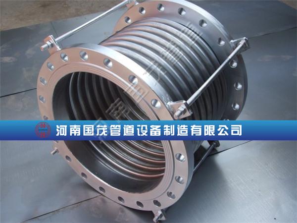 化工管道波纹补偿器固定支架和导向支架怎么设置