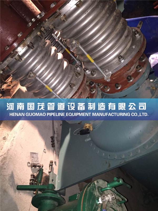 冷却塔波纹管补偿器经常遇到的安装方法介绍