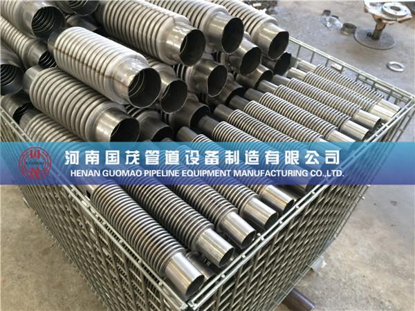 关于管道增压泵金属波纹补偿器的拉脱现象的解释