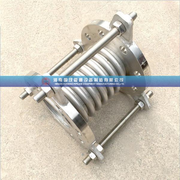 热源系统波纹补偿器选用螺焊接刚性连接