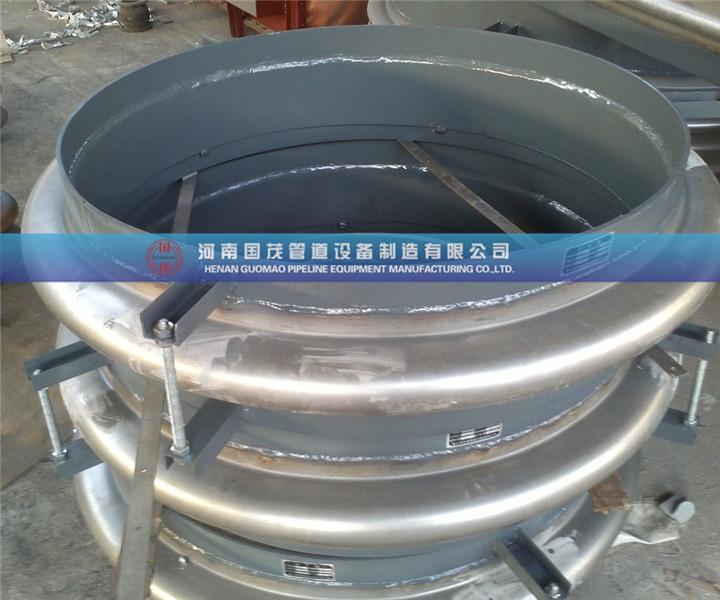 关于圆形管道金属补偿器安装的设计要求
