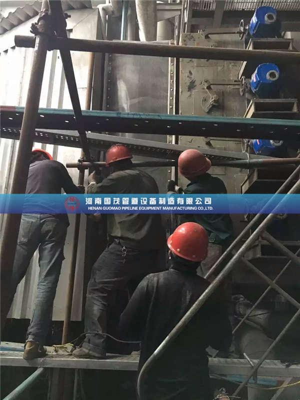 高炉系统非金属补偿器的运用规划