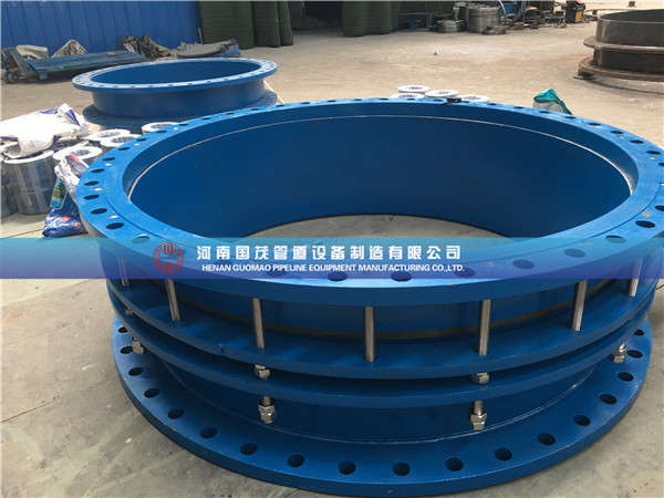 安装给排水厂双法兰伸缩接头应注意固定支架的设置和受力