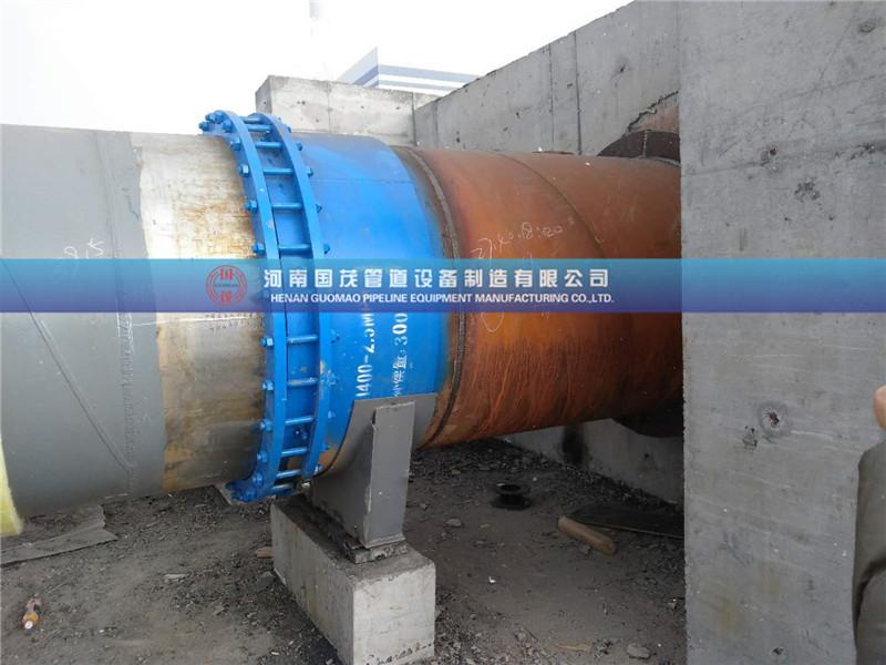 在有径向位移的管道中禁止使用套筒补偿器