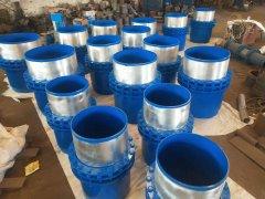 乌鲁木齐某能源企业订购的套筒补偿器整装待发