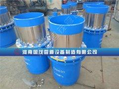 烟台套筒补偿器在各种工程现场使用广泛抗腐蚀寿命长免维护