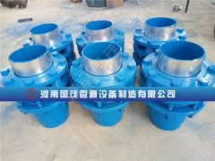 国茂套筒补偿器又一次打开中国市场