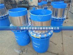国茂套筒补偿器腐蚀的因素及预防